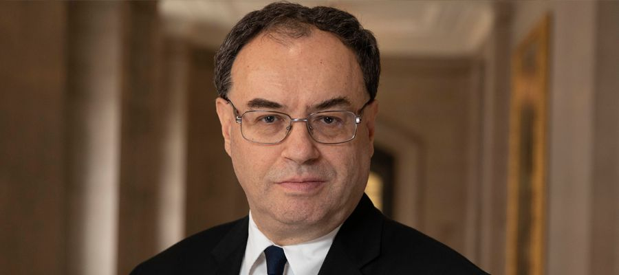Andrew Bailey Governor of Bank of England