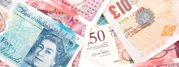 british pound notes