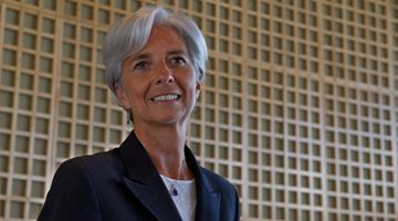 Christine Lagarde, President of the IMF