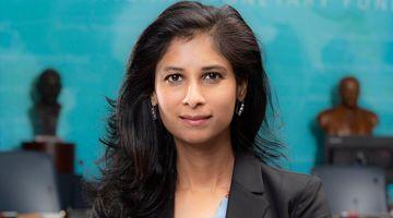 Gita Gopinath, Chief Economist of the International Monetary Fund