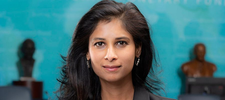 Gita Gopinath, Chief Economist of the International Monetary Fund
