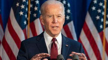 Democratic hopeful Joe Biden
