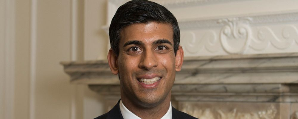 Rishi Sunak, Chancellor of the Exchequer