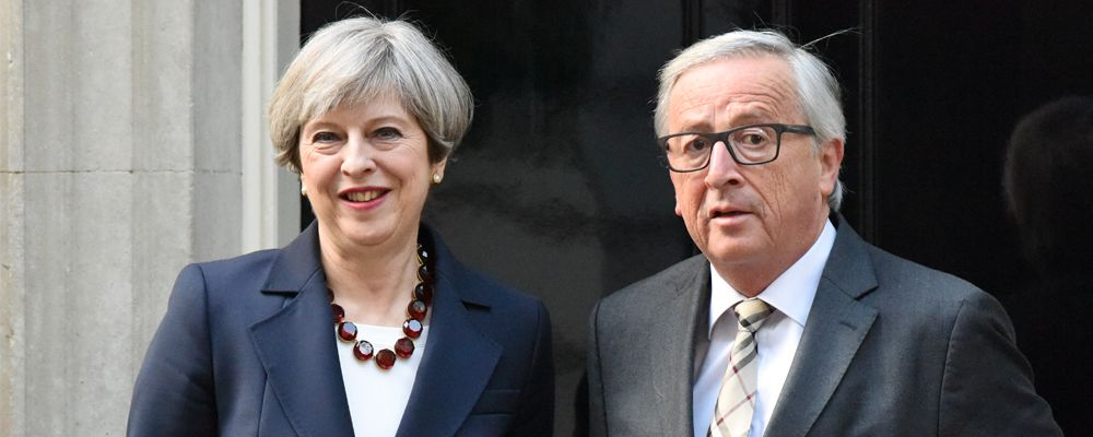 Prime Minister Theresa May hosts President of the European Commission Jean-Claude Juncker